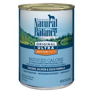 Natural Balance Original Ultra Reduced Calorie Chicken, Salmon & Duck Formula
