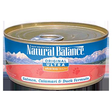 Natural Balance Original Ultra Salmon, Calamari & Duck Formula