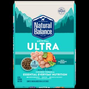 Natural Balance Original Ultra Ultra Premium Formula -  Chicken, Chicken Meal, Duck Meal Formula