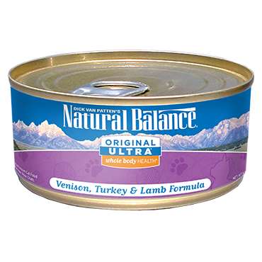 Natural Balance Original Ultra Venison, Turkey & Lamb Formula