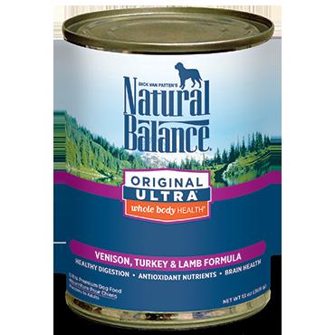 Natural Balance Original Ultra Venison, Turkey & Lamb Formula