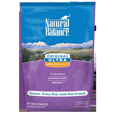 Natural Balance Original Ultra Venison, Turkey Meal, Lamb Meal Formula