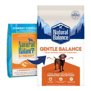 Natural Balance Ultra Premium Dog Food Synergy Formula