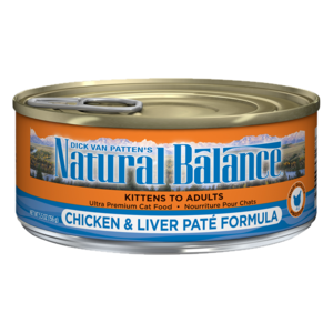 Natural Balance Ultra Premium Cat Food Chicken & Liver Pate Formula
