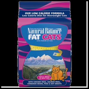 Natural Balance Ultra Premium Cat Food Fat Cats