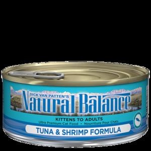 Natural Balance Ultra Premium Cat Food Tuna With Shrimp Formula