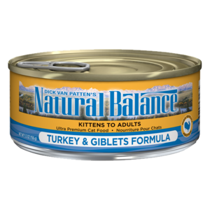 Natural Balance Ultra Premium Cat Food Turkey & Giblets Formula
