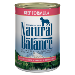 Natural Balance Ultra Premium Dog Food Beef Formula
