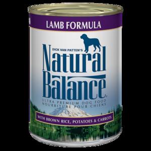Natural Balance Ultra Premium Dog Food Lamb Formula