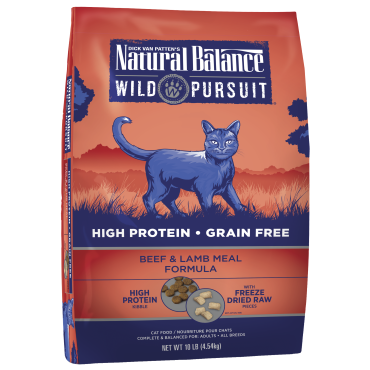 Natural Balance Wild Pursuit Beef & Lamb Meal Formula