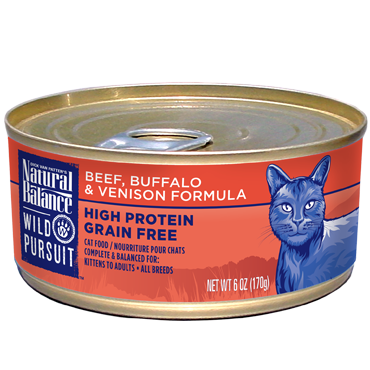 Natural Balance Wild Pursuit Beef, Buffalo & Venison Formula