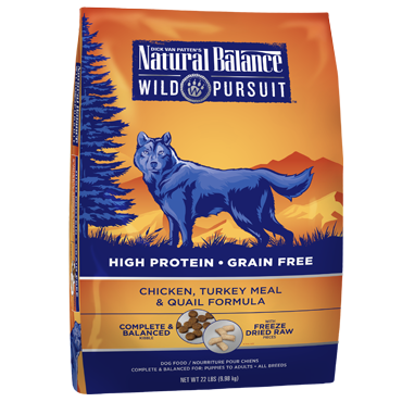 Natural Balance Wild Pursuit Chicken, Turkey & Quail Formula