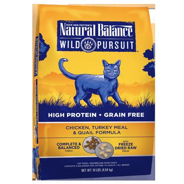 Natural Balance Wild Pursuit Cat Food Review