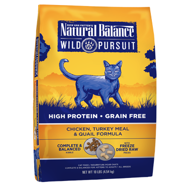 Natural Balance Wild Pursuit Chicken, Turkey Meal & Quail Formula