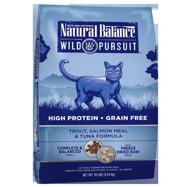 Natural Balance Wild Pursuit Trout, Salmon Meal & Tuna Formula