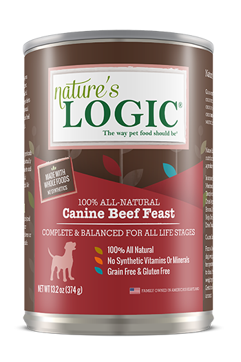 Nature's Logic Canine Canned Beef Feast