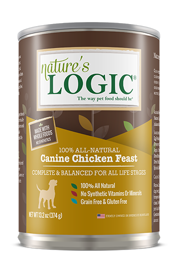 Nature's Logic Canine Canned Chicken Feast