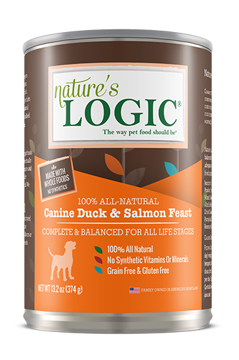 Nature's Logic Canine Canned Duck & Salmon Feast