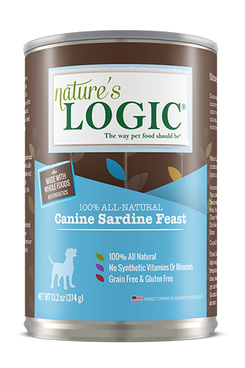Nature's Logic Canine Canned Sardine Feast