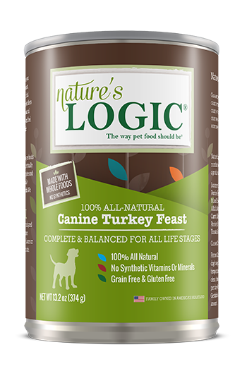 Nature's Logic Canine Canned Turkey Feast