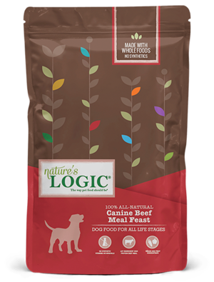Nature's Logic Canine Kibble Beef Meal Feast