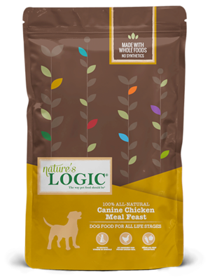 Nature's Logic Canine Kibble Chicken Meal Feast