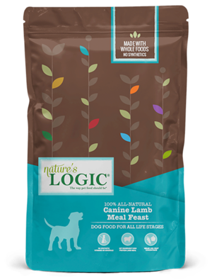 Nature's Logic Canine Kibble Lamb Meal Feast