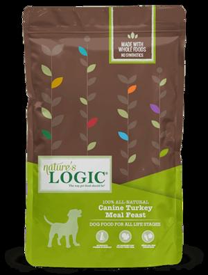 Nature's Logic Canine Kibble Turkey Meal Feast