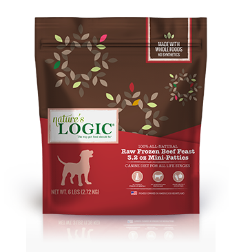 Nature's Logic Canine Raw Frozen Beef Feast