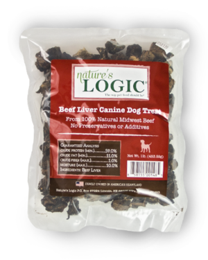 Nature's Logic Canine Treat Beef Liver