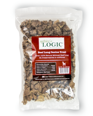 Nature's Logic Canine Treat Beef Lung