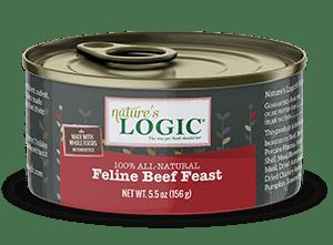 Nature's Logic Feline Canned Beef Feast