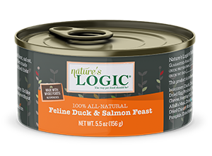 Nature's Logic Feline Canned Duck & Salmon Feast