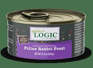 Nature's Logic Feline Canned Rabbit Feast