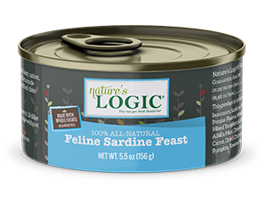Nature's Logic Feline Canned Sardine Feast