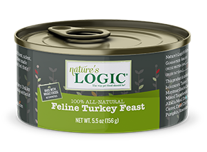 Nature's Logic Feline Canned Turkey Feast