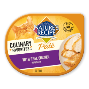 Nature's Recipe Culinary Favorites Pate With Real Chicken In Gravy