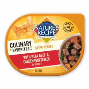 Nature's Recipe Culinary Favorites Stew Recipe With Real Beef & Garden Vegetables In Gravy