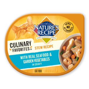 Nature's Recipe Culinary Favorites Stew Recipe With Real Seafood & Garden Vegetables In Gravy