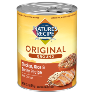 Nature's Recipe Easy To Digest Chicken, Rice & Barley Recipe Homestyle Ground