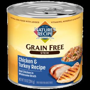 Nature's Recipe Grain Free Chicken & Turkey Stew With Sweet Potato & Green Beans