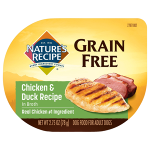 Nature's Recipe Grain Free Easy To Digest Chicken & Duck Recipe In Broth