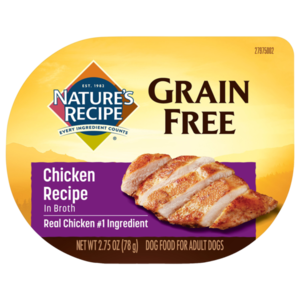 Nature's Recipe Grain Free Easy To Digest Chicken Recipe In Broth