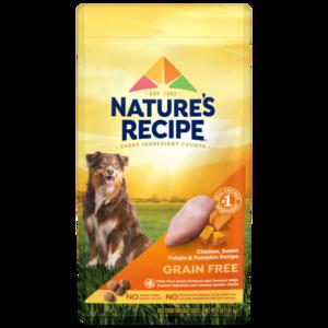 Nature's Recipe Grain Free Easy To Digest Chicken, Sweet Potato & Pumpkin Recipe