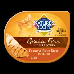 Nature's Recipe Grain Free High Protein Chicken & Turkey Recipe In Broth