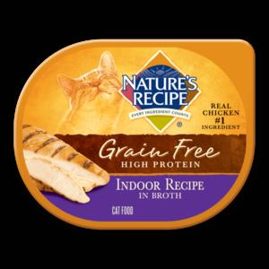 Nature's Recipe Grain Free High Protein Indoor Recipe In Broth
