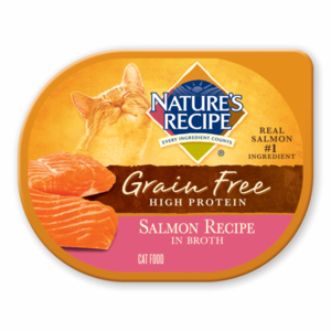 Nature's Recipe Grain Free High Protein Salmon Recipe In Broth