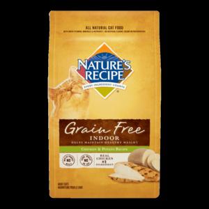 Nature's Recipe Grain Free Indoor Chicken & Potato Recipe