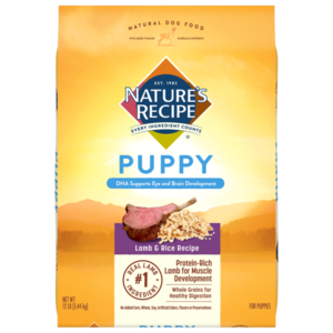 Nature's Recipe Puppy Lamb Meal & Rice Recipe
