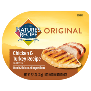 Nature's Recipe Wet Dog Food Chicken & Turkey Recipe In Broth